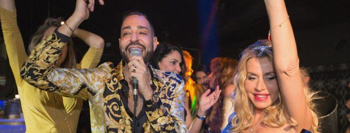 Nando Moscariello Hollywood party Roma
